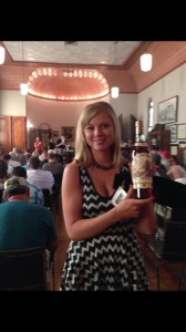 At the Master Distillers auction. 23 yr Pappy that brought $1,000!